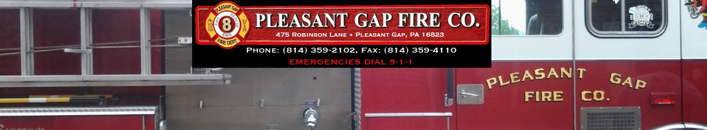 Pleasant Gap Fire Company # 1